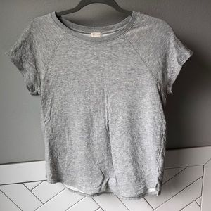 J Crew Double Lined Cotton top